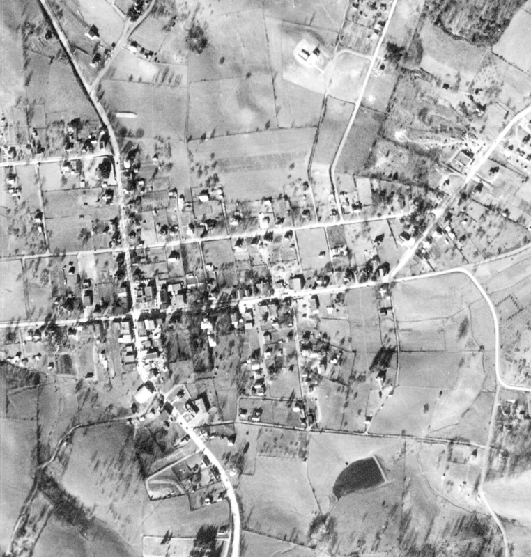 Aerial photograph of Floyd, 1953