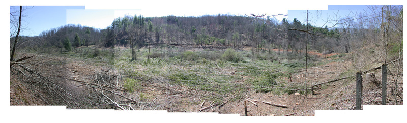 Panoramas of the Floyd Speedway site