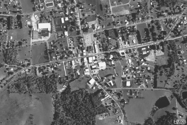 Aerial photographs of Floyd, 1999