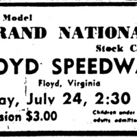 All Late Model Grand National Stock Car Races,<br />