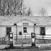 Former company house, then gas station, then post office on Route 311 (Paint Bank, Craig County)