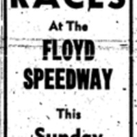 7 Big Races at the Floyd Speedway